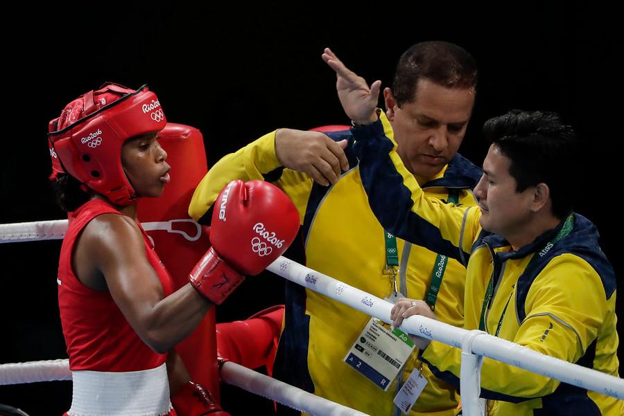 Ingrit Valencia pelea este martes por el bronce2