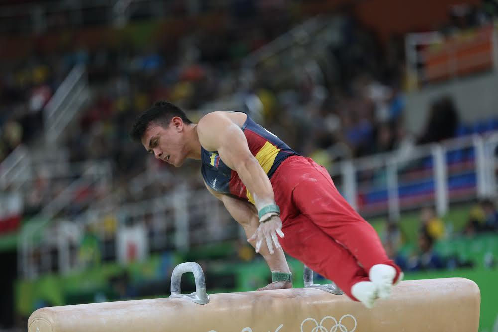 Jossimar Calvo participó en la modalidad de 'All Around' y con un puntaje global de 88.915, se ubicó en la décima casilla, en su primera presentación olímpica.