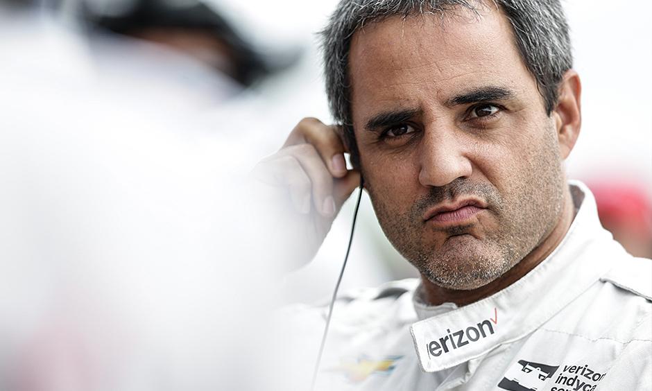 Juan Pablo Montoya. Foto. IndyCar Media
