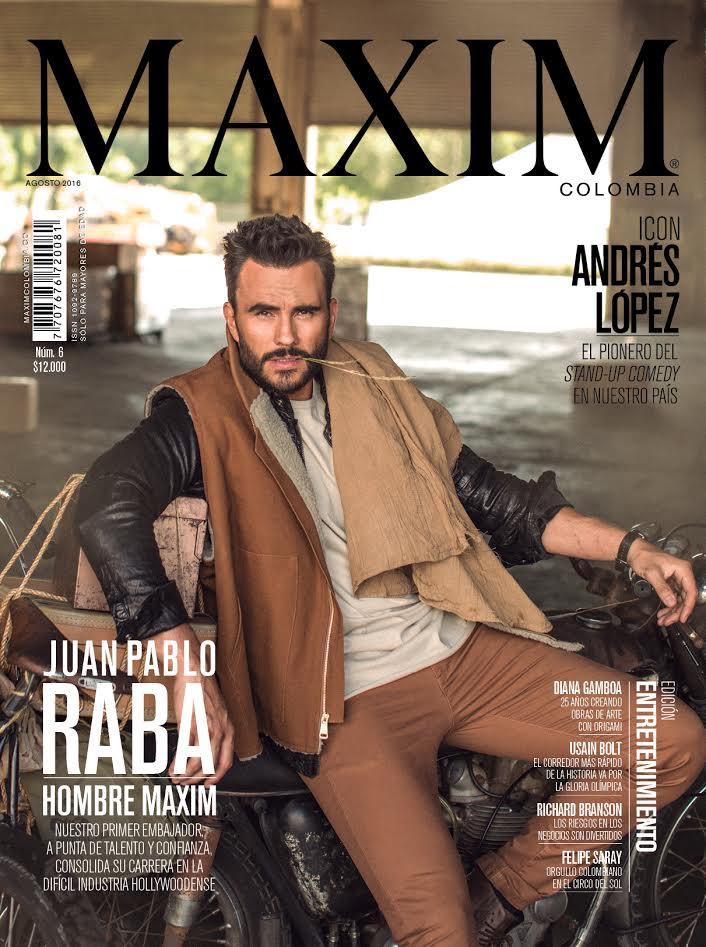 Juan Pablo Raba en Maxim Colombia