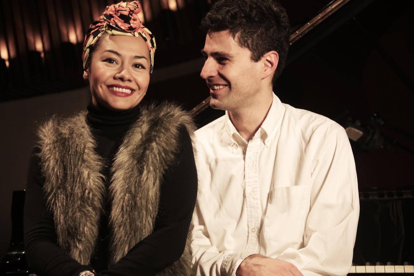 Juanita Delgado y Ricardo Gallo
