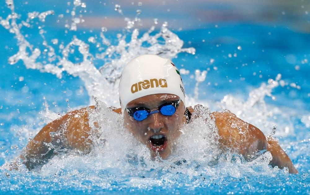 La Katinka Hosszu de Hungría camino al oro con récord en los 400 metros combinados