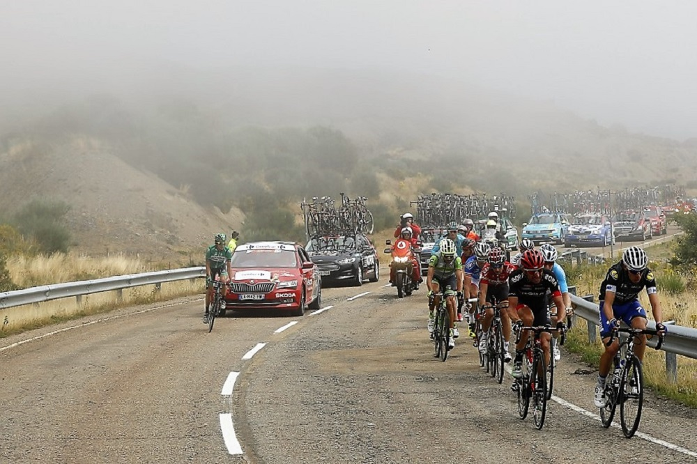 La fuga en la 9a etapa de la Vuelta
