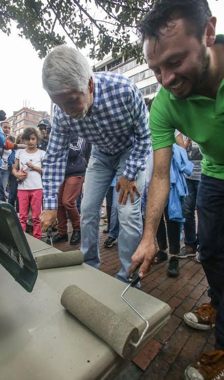 Más de 10.000 ciudadanos limpiaron y recuperaron el espacio público de Bogotá9
