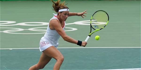 Mariana Duque, eliminada del tenis olímpico en Río