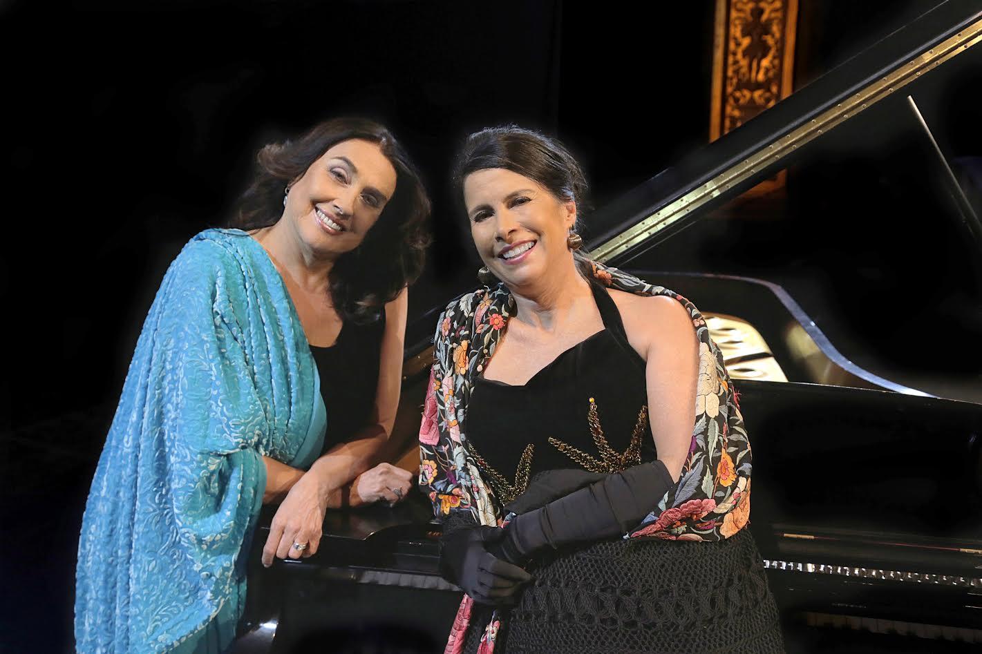 Martha Senn y Laura García