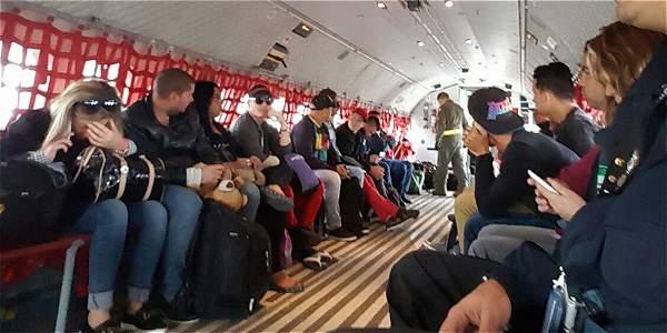 Migración Colombia deportó a Cuba a 14 migrantes