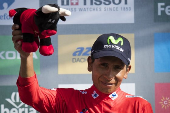 Nairo Quintana es líder de la Vuelta a España