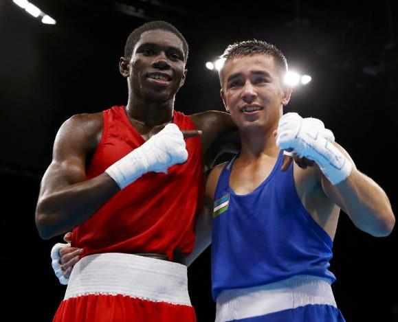 Oro y plata en Boxeo