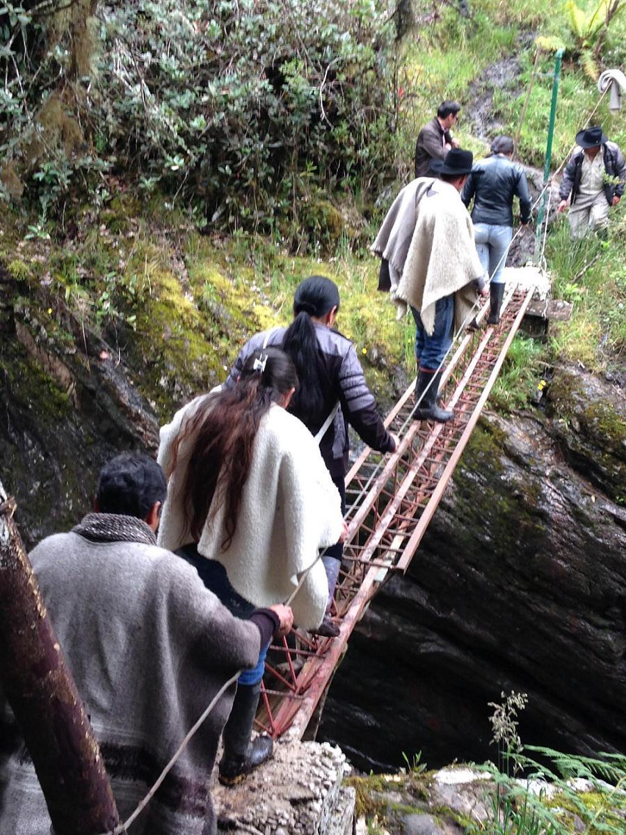 Primer recorrido de la Ruta Campesina en Sumapaz llegó a su fin P
