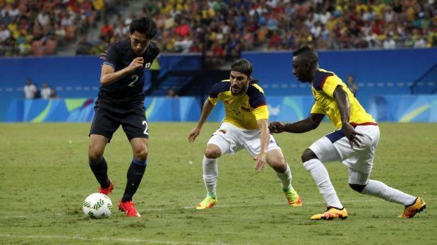 Segundo empate de Colombia, en fútbol