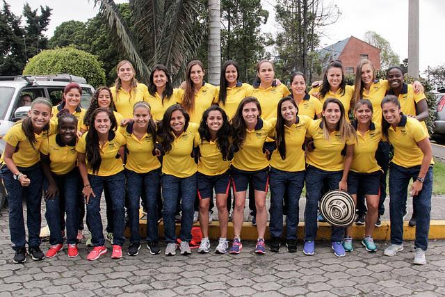Selección Colombia Femenina de Fútbol 00