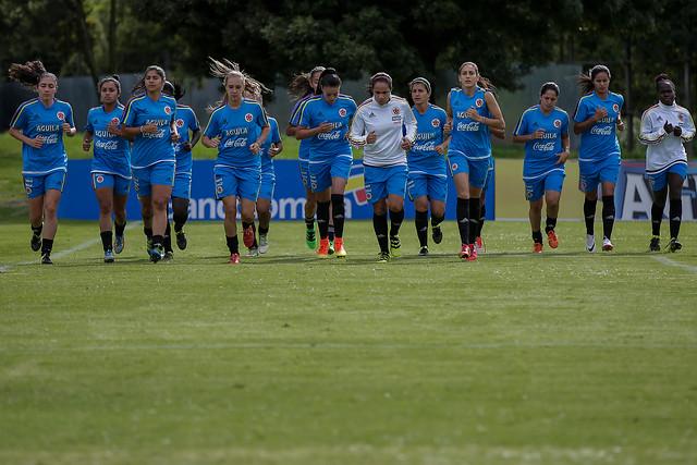 Selección Colombia Femenina de Fútbol.