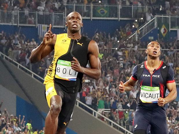 El jamaicano se colgó su tercer oro en la prueba y sumó su primera medalla en Río 2016