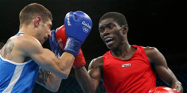 Yuberjén Martínez derrotó al cubano Joahnys Argilagos en la semifinal de la categoría de 49 kilos
