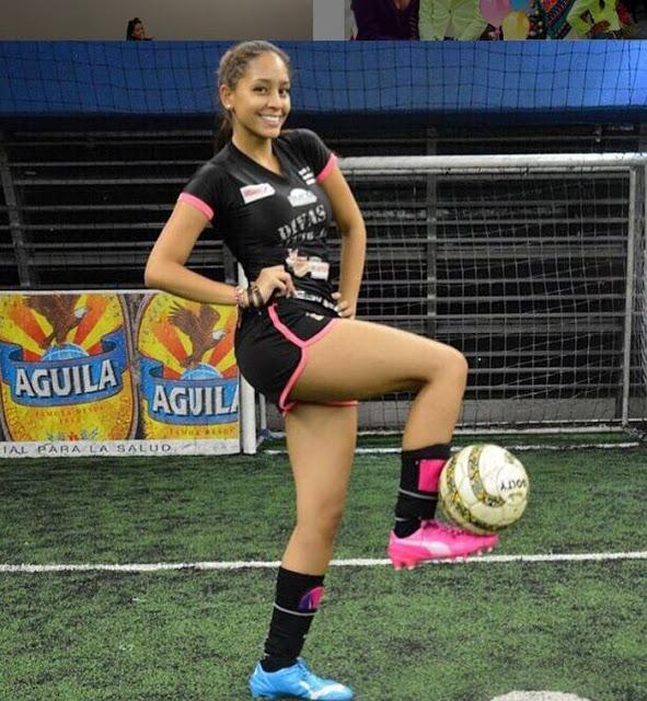 El fútbol, una de las grandes pasiones en la vida de Juliana López. Foto: Instagram
