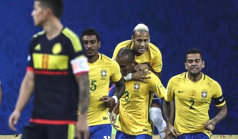 Brasil derroto a Colombia en Manaos