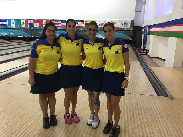 De izquierda a derecha: Juliana Franco, María José Rodríguez, Clara Juliana Guerrero y Rocío Restrepo.