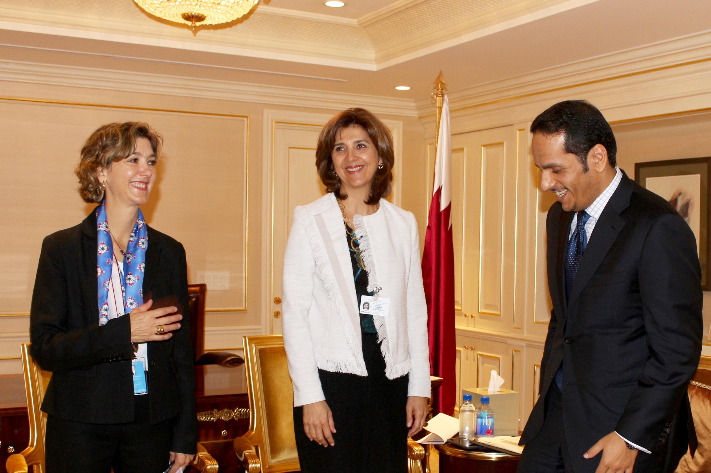 colombia-y-qatar-revisaron-el-estado-de-sus-relaciones-bilaterales