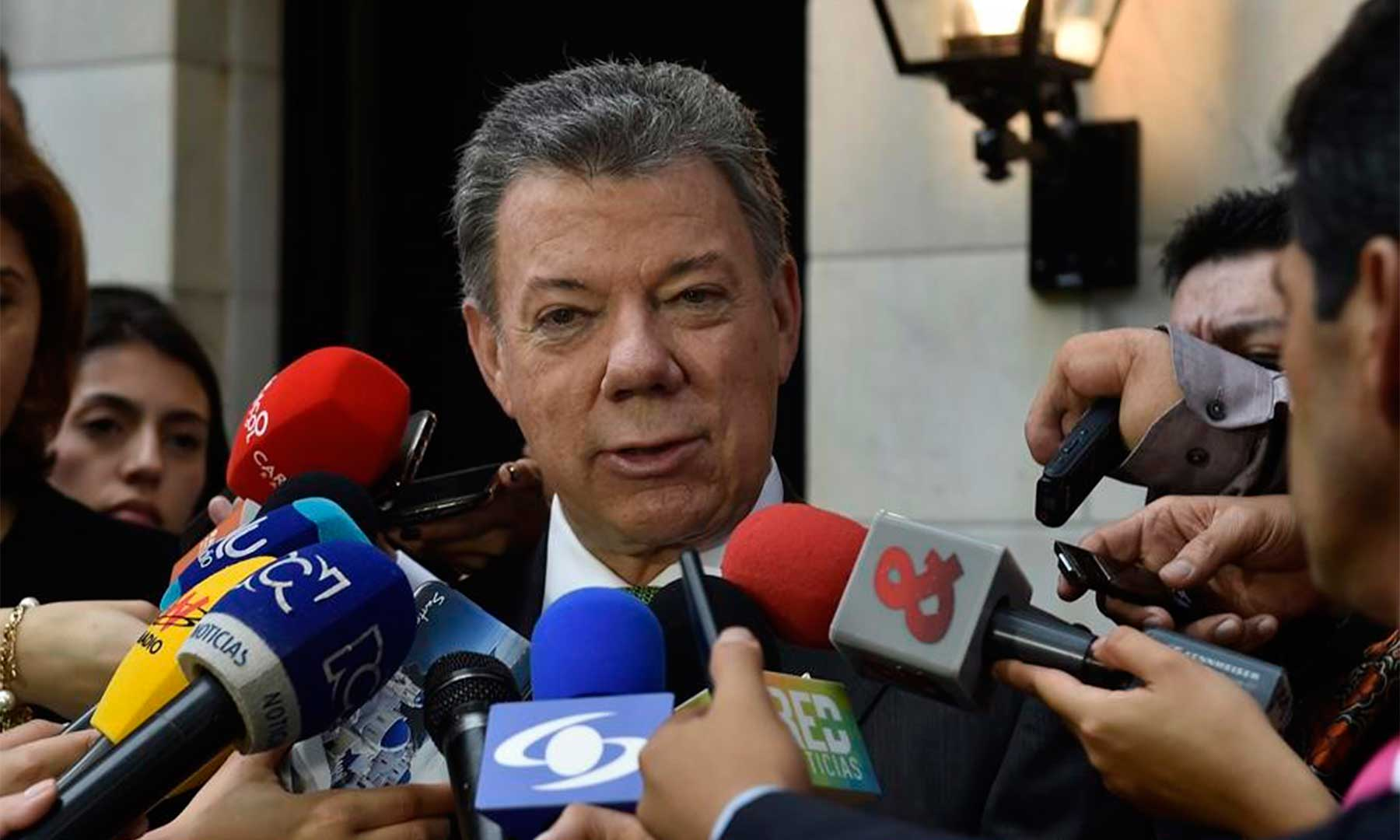 Hemos podido constatar que el mundo entero apoya Acuerdo Final de Paz, declaró el Presidente Santos