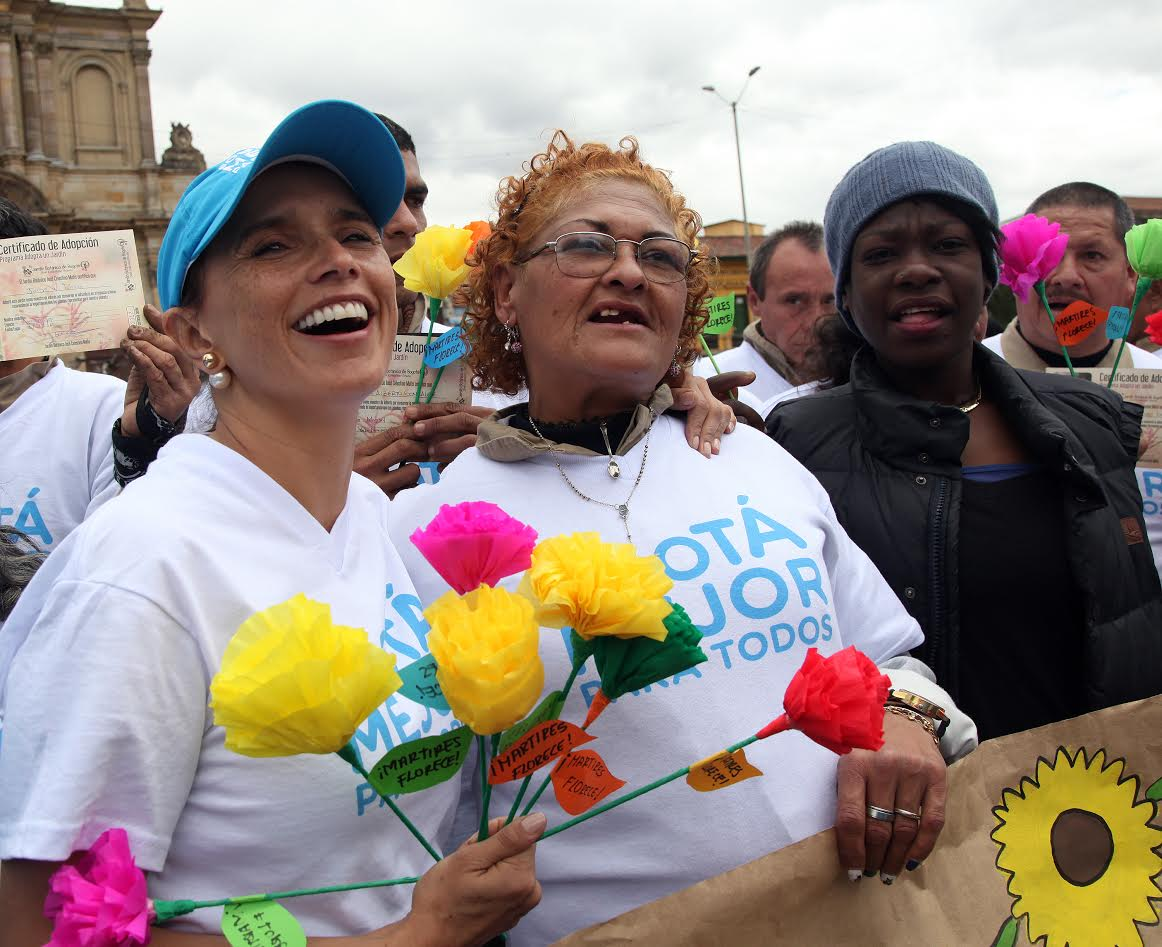 Los Mártires florece con el aporte de exhabitantes de calle 3