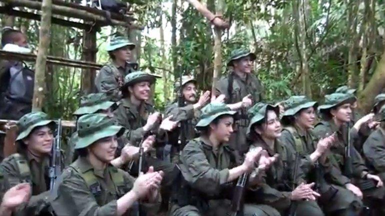 Menores de los campamentos de las Farc