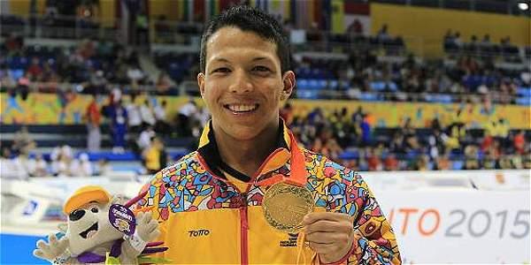 El nadador colombiano el pasado viernes había logrado un diploma paralímpico. Nelson Crispín
