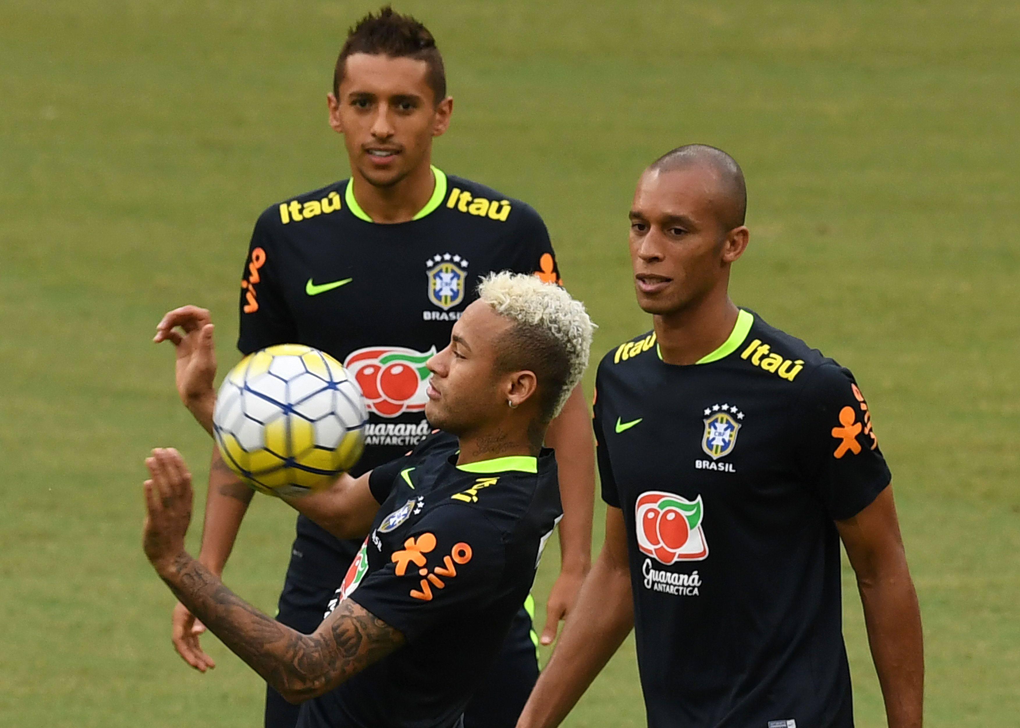 Neymar con todo ante Colombia