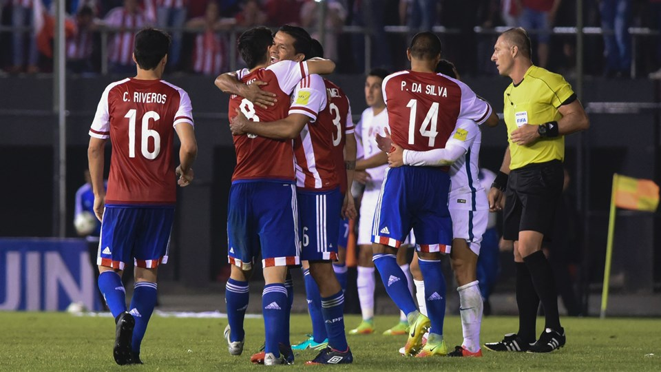 Paraguay saca tres sufridos puntos ante Chile