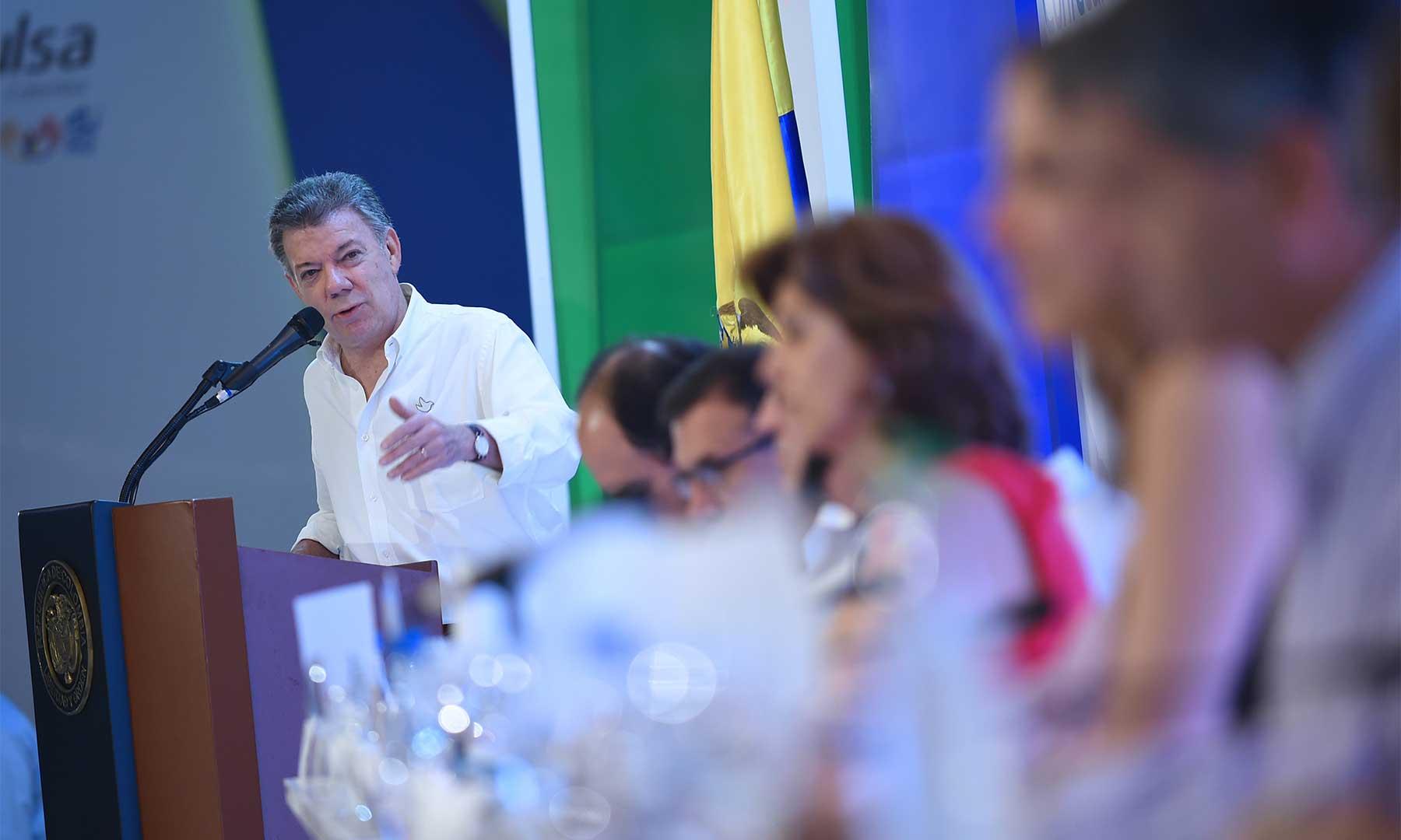 Presidente Santos anuncia que la paz se firmará el 26 de septiembre en Cartagena