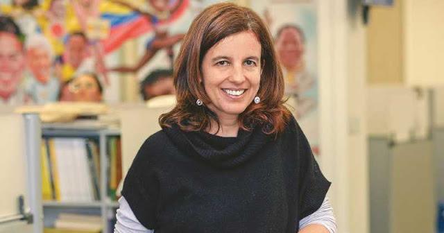 Juanita León, de La Silla Vacía, una de las tres finalistas de la categoría Cobertura por su trabajo 'La justicia que sale de La Habana'. Foto: semana.com