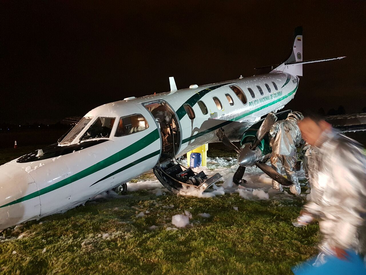 avion-donde-viajaba-mininterior-tuvo-un-incidente-al-aterrizar-en-catam