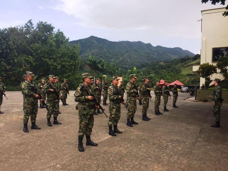 Por primera vez en la historia del país la totalidad de las tropas del Ejército Nacional custodiaran y protegerán las elecciones en toda Colombia.