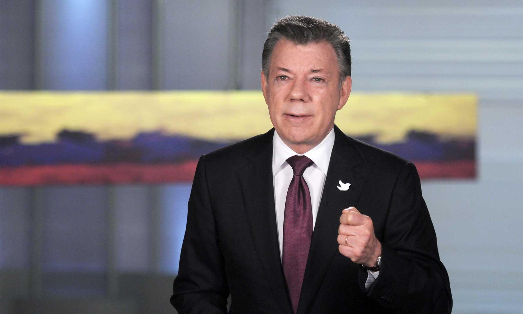 El Presidente Juan Manuel Santos dijo que seguirá escuchando y recibiendo propuestas hasta el próximo jueves para un acuerdo de paz que llevará a la mesa de negociaciones con las Farc.