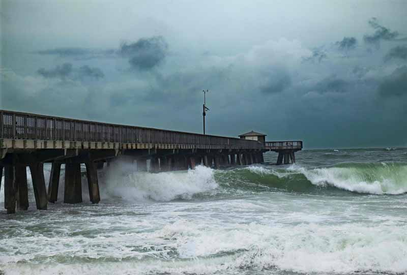 Hurricane Matthew Bears Down On Atlantic Coast