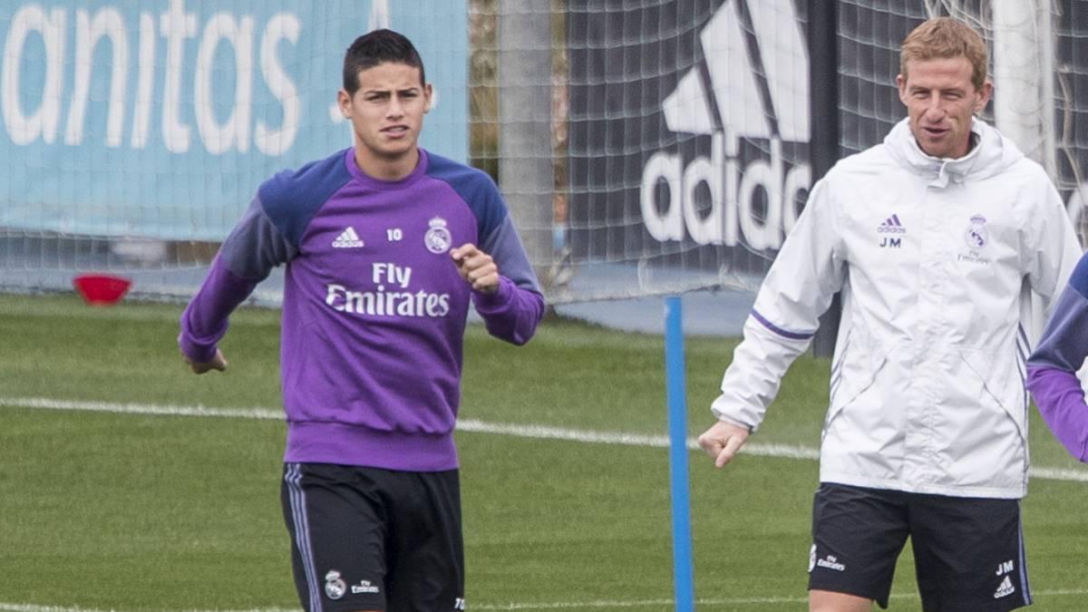 El jugador colombiano volverá a las canchas quince días después de su lesión en el sóleo.
