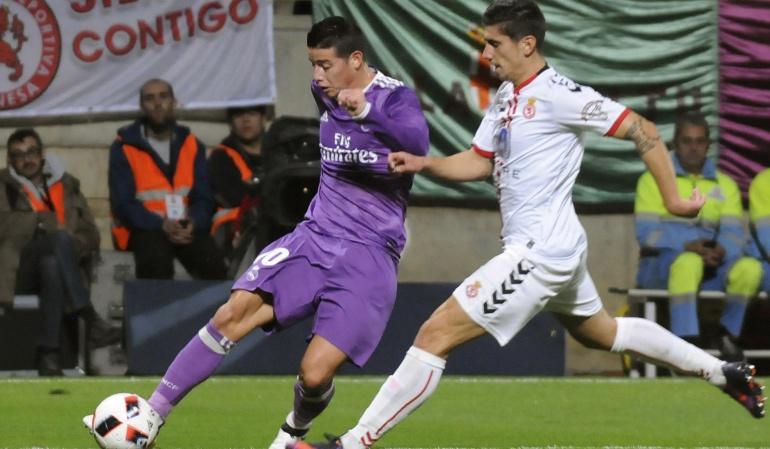 El volante participó en 4 de los 7 goles del cuadro blanco en el triunfo 7-1 por Copa del Rey.