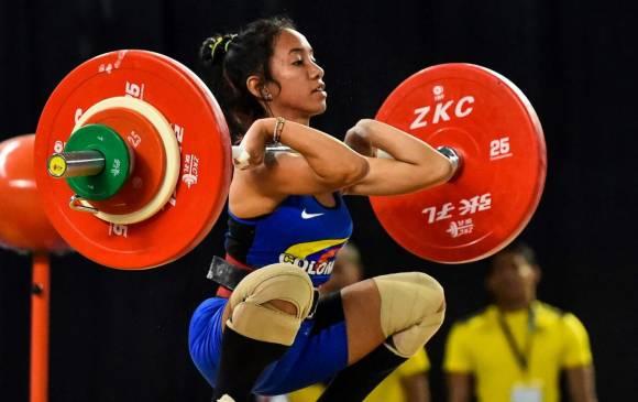 Manuela Berrío, tres medallas de oro. Foto: El País