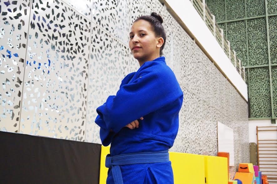 Pamela Hernández, judoca colombiana.
