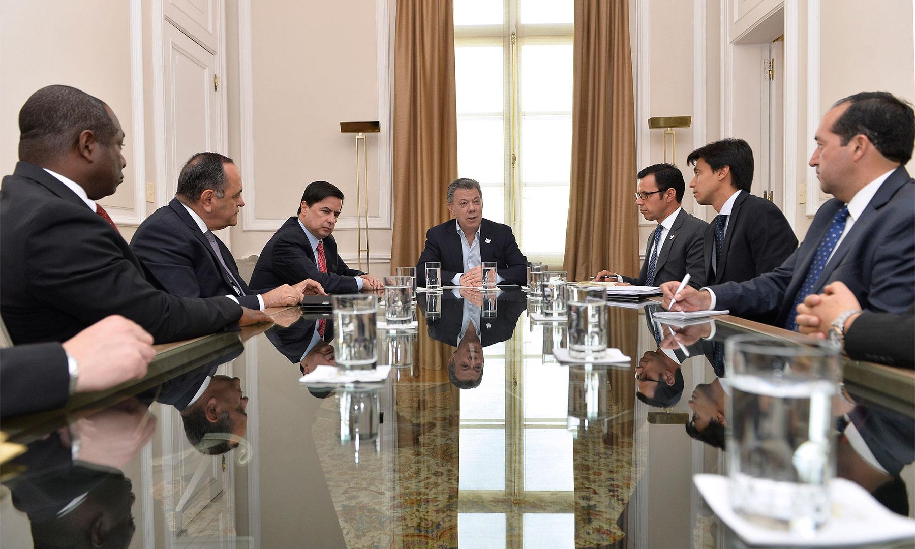 El Presidente Santos escuchó a representantes de los movimientos cristianos y de la Asociación de Ministros del Evangelio, dentro del diálogo nacional que convocó para sacar adelante los acuerdos de paz.
