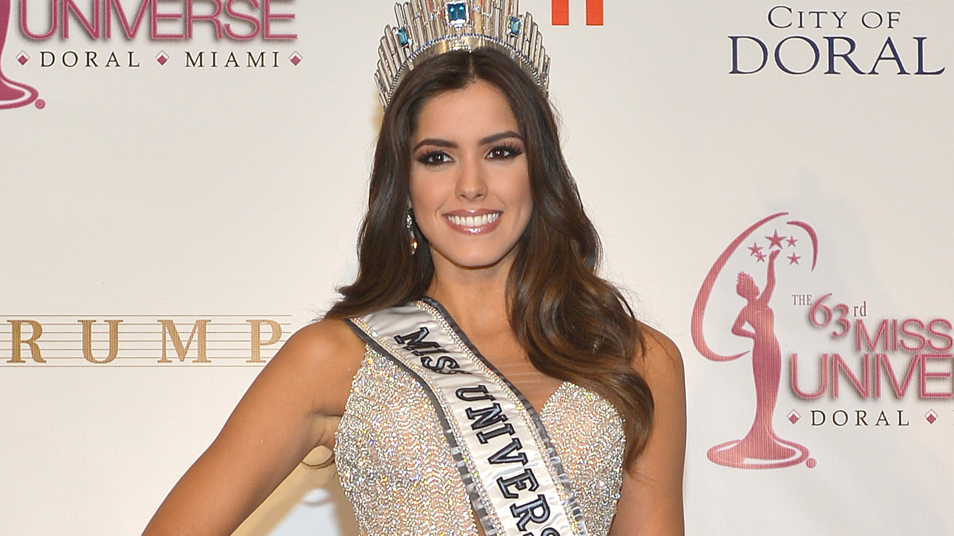 The 63rd Annual Miss Universe Pageant - Winner Press Conference