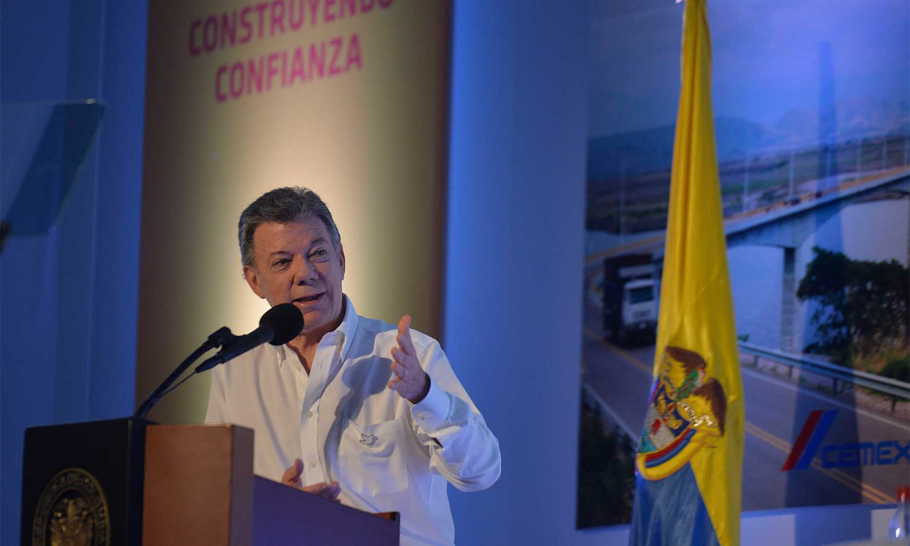 Al intervenir en la clausura del XIII Congreso Nacional de la Infraestructura, este viernes en Cartagena, el Presidente Juan Manuel Santos anunció fuertes medidas adicionales en la lucha contra la corrupción.