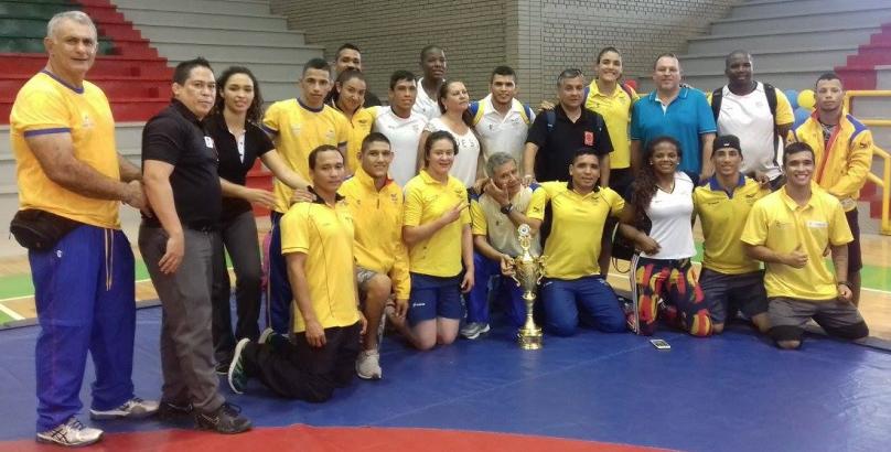 colombia-campeon-del-sudamericano-de-lucha