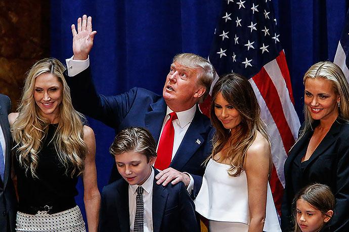 donald-trump-y-su-familia