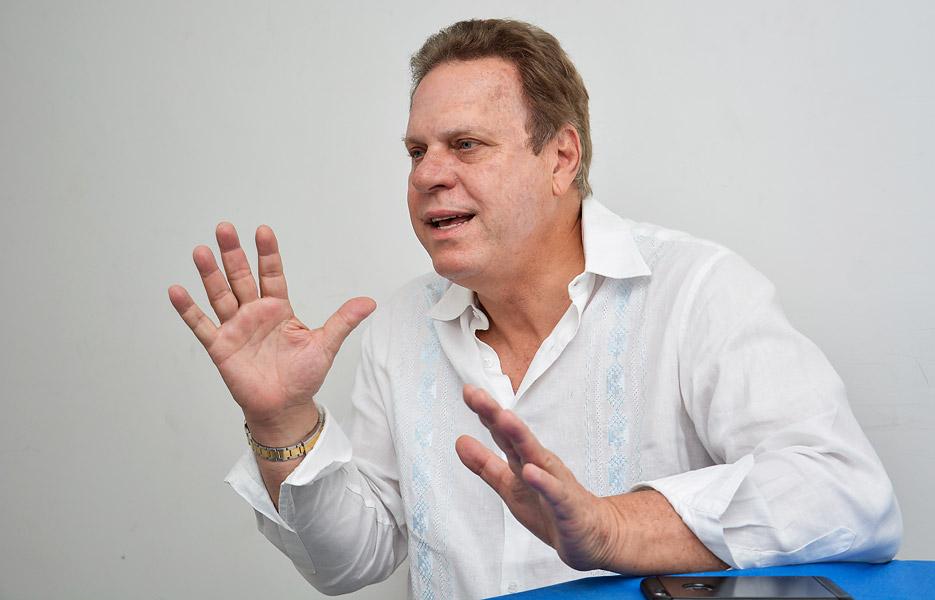 Ramón Jesurún Franco, presidente de la Federación Colombiana de Fútbol y segundo Vicepresidente del Comité Ejecutivo del COC. Foto: El Heraldo.