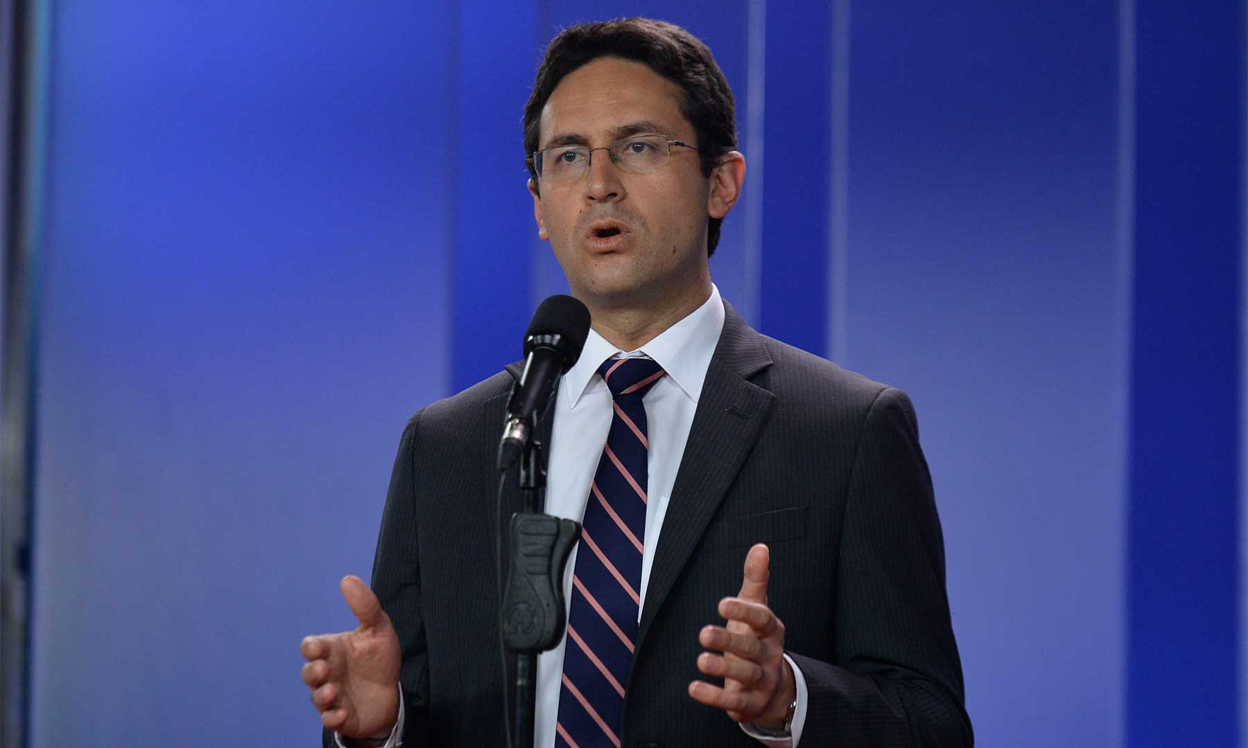 El Secretario de Transparencia de la Presidencia, Camilo Enciso, entregó este viernes una declaración en la Casa de Nariño acerca de las denuncias relacionadas con la firma Odebrecht.