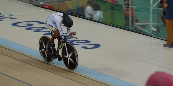 Diego Germán Dueñas Gómez (Ciclismo - discapacidad física), Medalla de bronce en 4.000 metros persecución individual categoría C4 en los Juegos Paralímpicos de Río de Janeiro, Brasil 2016,