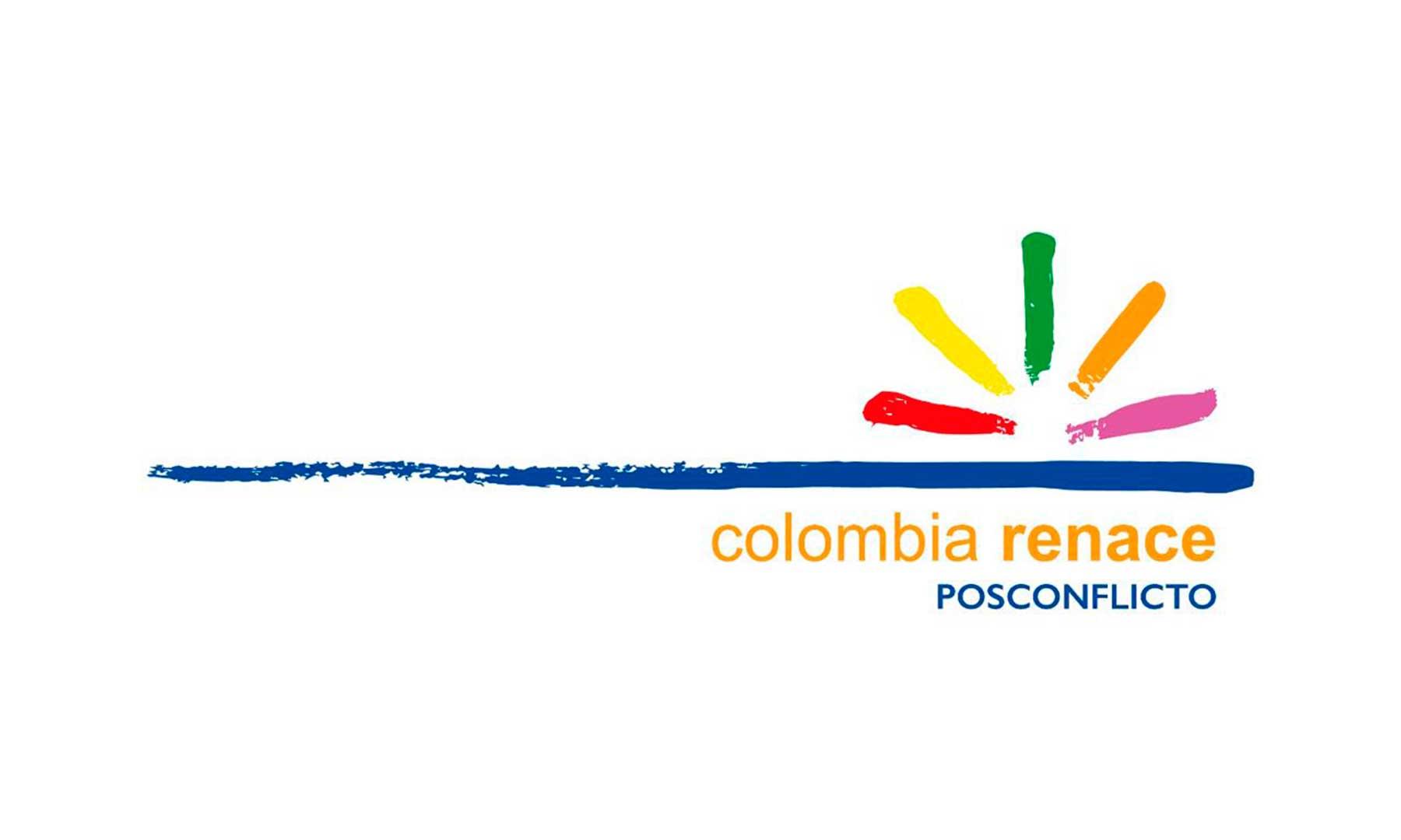 La marca oficial del posconflicto, 'Colombia Renace', llegó al Sur de Bolívar