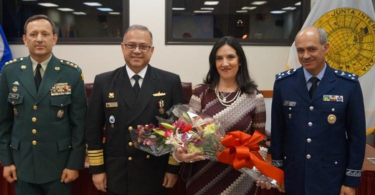 Colombia fue nombrada en la Presidencia del Consejo de Delegados de la Junta Interamericana de Defensa (JID), a partir del primero de enero de 2017 hasta al 30 junio del mismo año, el representante del país en este cargo será el Mayor General Gabriel Pinilla Franco, oficial del Ejército de Colombia