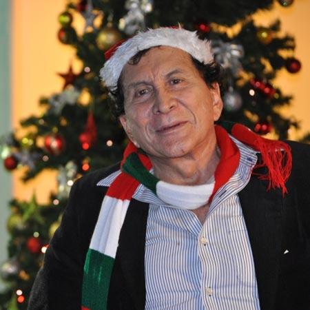 'El Loko' Quintero, tan navideño como el vino Cinzano y las galletas Caravana. Su música seguirá prendiendo las celebraciones decembrinas. Foto: Archivo particular